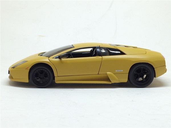 โมเดลรถ โมเดลรถยนต์ โมเดลรถเหล็ก Murcielago yellow 3