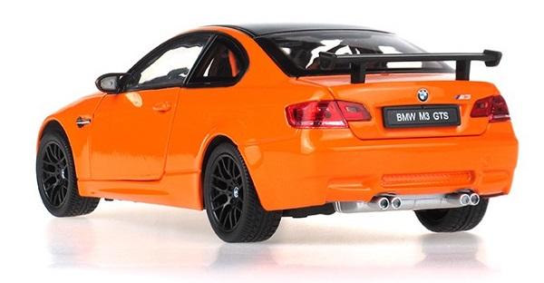 โมเดลรถ โมเดลรถยนต์ โมเดลรถเหล็ก BMW M3 GTS orange 2