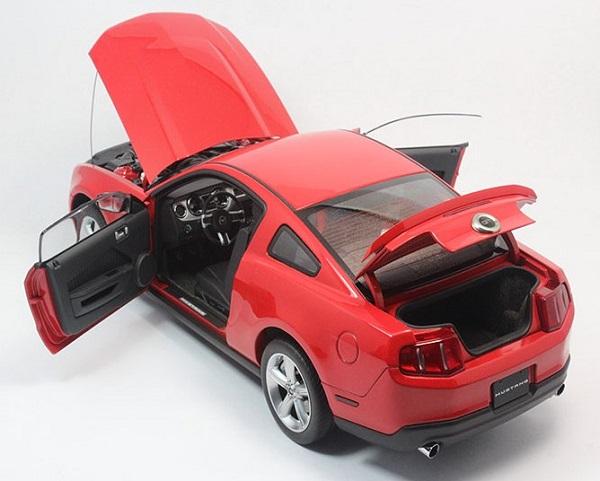โมเดลรถ โมเดลรถเหล็ก โมเดลรถยนต์ Ford GT 2010 red 6