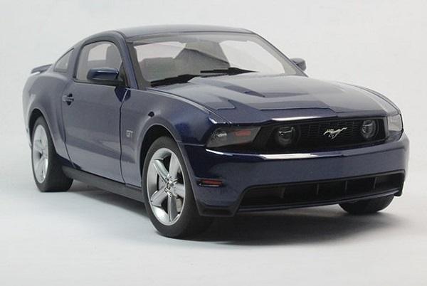 โมเดลรถ โมเดลรถเหล็ก โมเดลรถยนต์ Ford GT 2010 navy 2