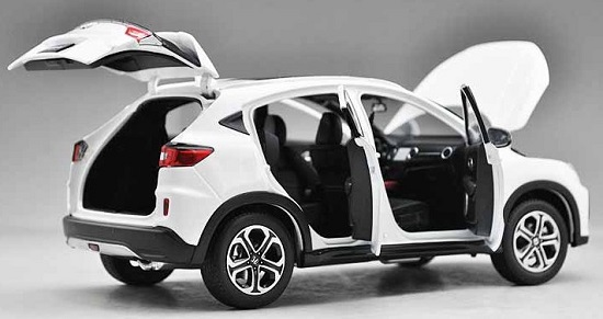 โมเดลรถ โมเดลรถเหล็ก โมเดลรถยนต์ Honda XRV ขาว 5