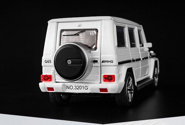 โมเดลรถเหล็ก โมเดลรถยนต์ Benz G65 6