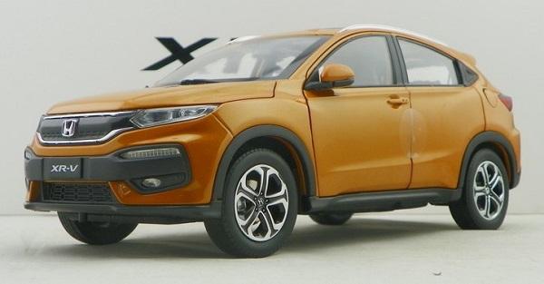 โมเดลรถ โมเดลรถเหล็ก โมเดลรถยนต์ Honda XRV ส้ม 1