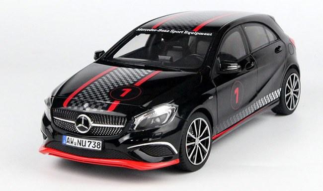 โมเดลรถ โมเดลรถเหล็ก โมเดลรถยนต์ Benz A Class Black 2