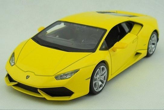 โมเดลรถ โมเดลรถยนต์ รถเหล็ก Lamborghini huracan LP610-4 1