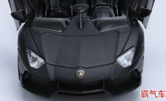 โมเดลรถเหล็ก โมเดลรถยนต์ Lamborghini Aventador J 4