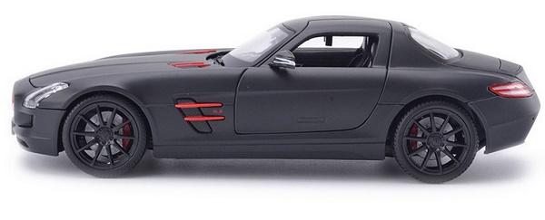 โมเดลรถ โมเดลรถเหล็ก โมเดลรถยนต์ Benz SLS AMG ดำด้าน 3