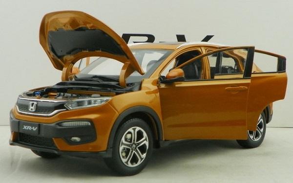 โมเดลรถ โมเดลรถเหล็ก โมเดลรถยนต์ Honda XRV ส้ม 3