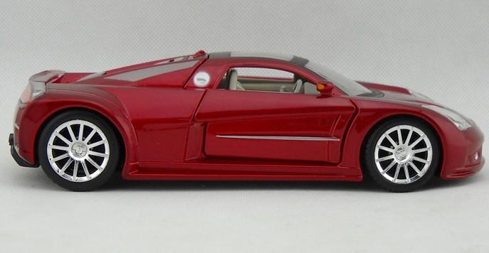 โมเดลรถ โมเดลรถยนต์ โมเดลรถเหล็ก Chrysler M3 แดง 4