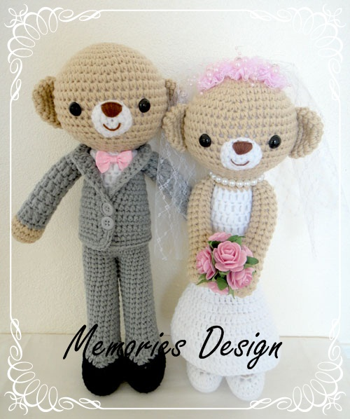 "Wedding Bear 2 (15"")"