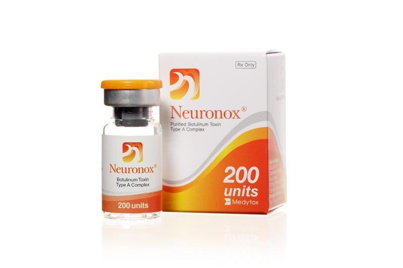 Neuronox 200U (Korea)สูญญากาศแท้ โบท็อกซ์เกาหลี ยอดฮิตตลอดการของบรรดาคุณหมอและคลินิกความงามใช้