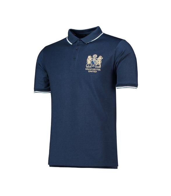 เสื้อโปโลแมนเชสเตอร์ ยูไนเต็ด แชมป์ยูโรเปี้ยนคัพ 1968 สีน้ำเงินเข้ม