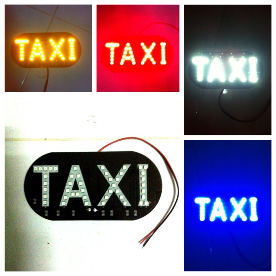 ป้ายไฟ Taxi LED