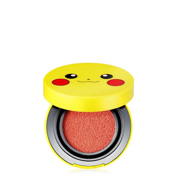 Tonymoly Pokemon Pikachu cushion mini blusher