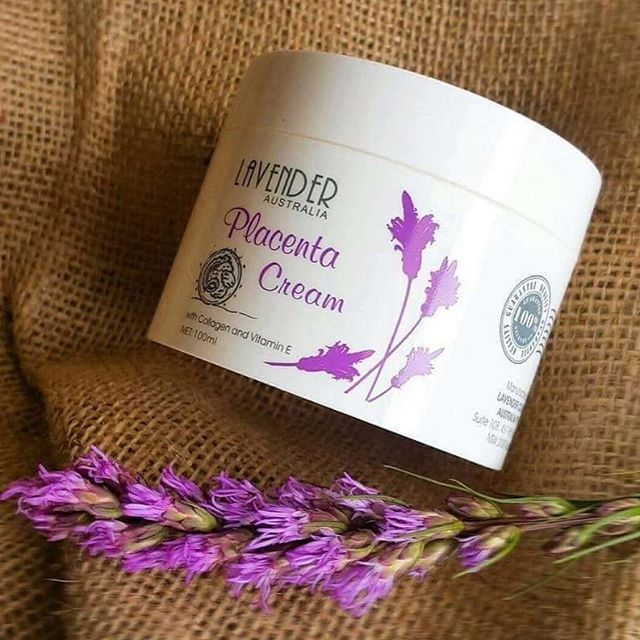 Lavender Placenta Cream ครีมรกแกะลาเวนเดอร์ จากออสเตรเลีย (ส่งฟรี ลทบ. / ems. 50)