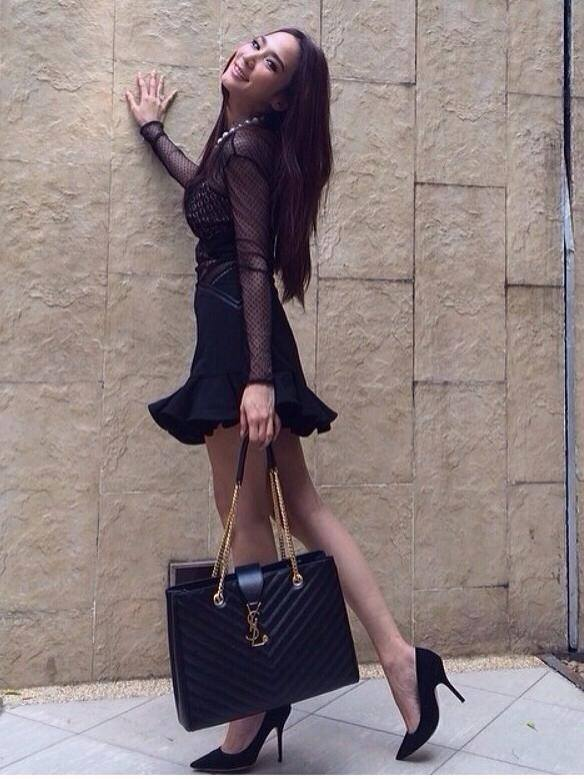 31010d930746 Knockoff Yves Saint Laurent Classic Monogramme Y9150 Shopping Bag ... ysl  shopping bag
