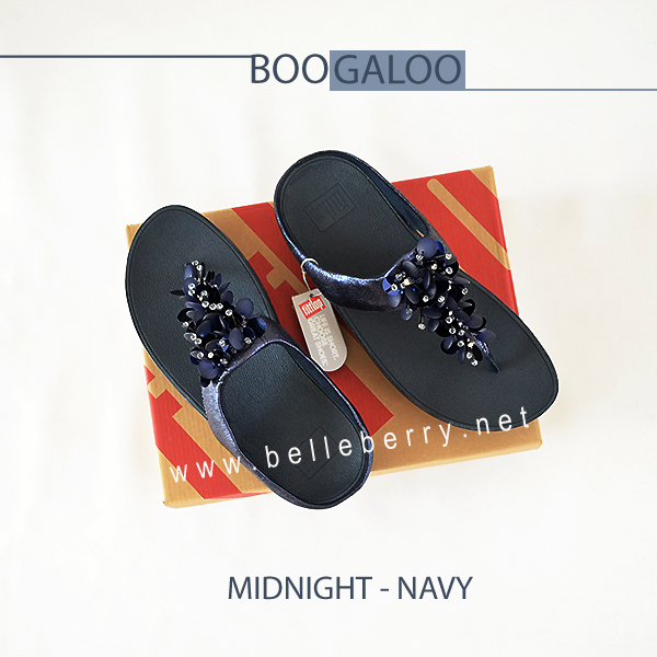* NEW * FitFlop : BOOGALOO : Midnight Navy : Size US 6 / EU 37