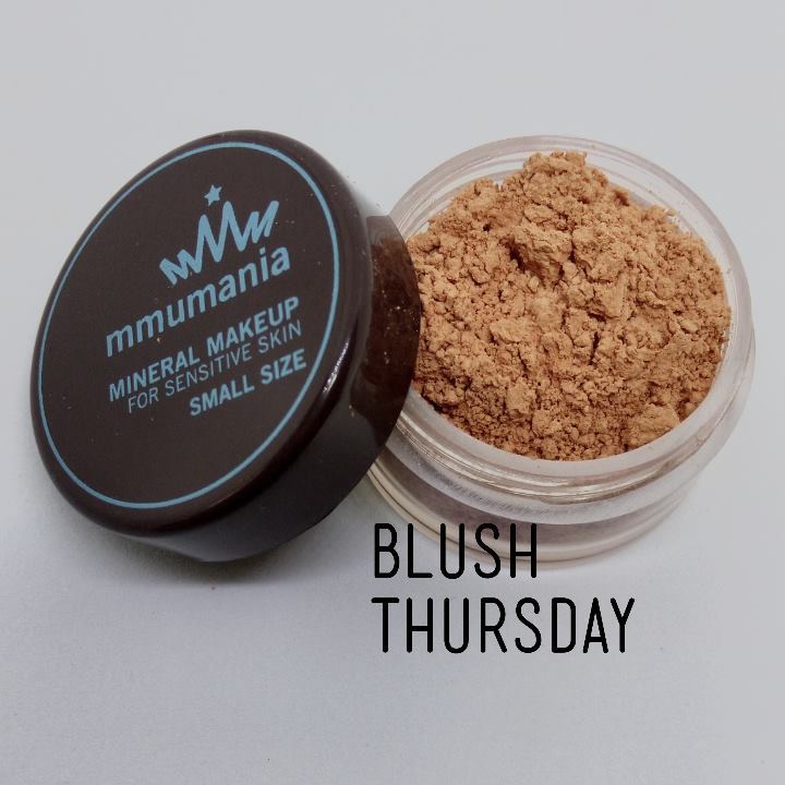 ขนาดกลาง MMUMANIA Mineral Makeup Blush สี Thursday