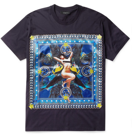 เสื้อGivenchy Pin-up girl Black Hight Mirror