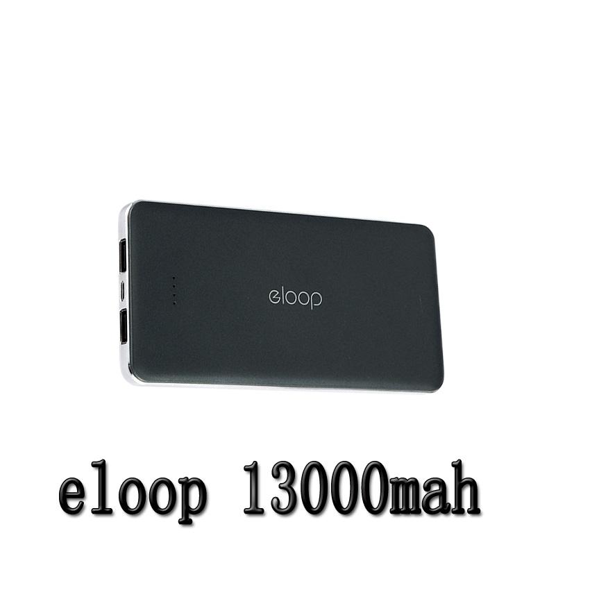 Eloop แบตเตอรี่สำรอง 13000 mAh รุ่น E13 ของแท้ - สีดำ