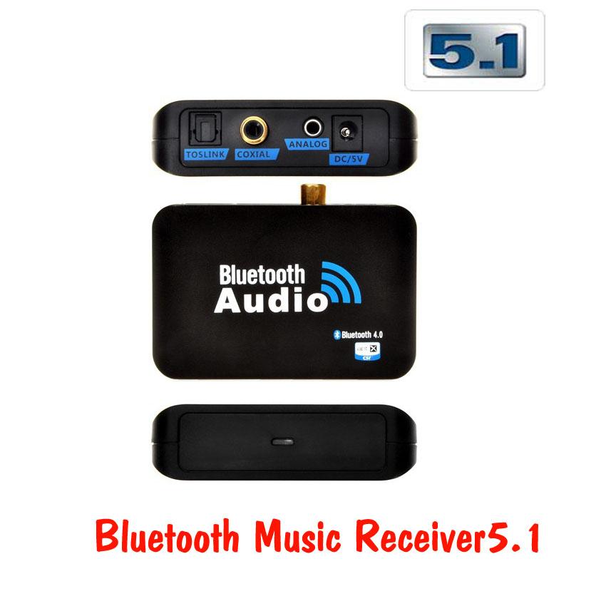 Bluetooth 4.0 Music Receiver with optical 5.1 รับสัญญาณบลูทู ไปใช้กับเครื่องเสียง