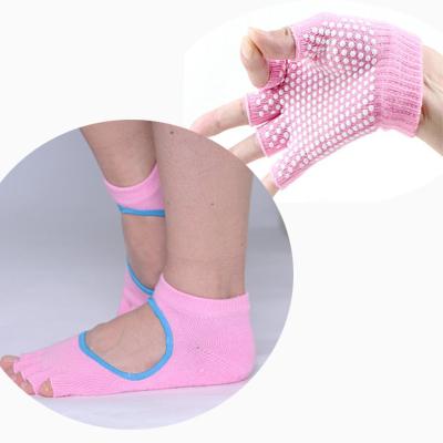 (พรีออเดอร์) ถุงมือ ถุงเท้าโยคะ กันลื่น YKSM30-45