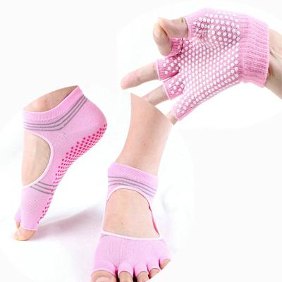 (พรีออเดอร์) ถุงมือ ถุงเท้าโยคะ กันลื่น YKSM30-43