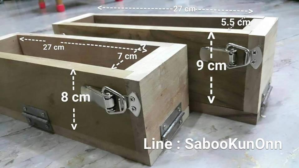 โมลไม้แบบคลิปล็อกทรงสูง 550 บาท กว้าง 5.5 X. ยาว 27 X สูง 9 ซ.ม