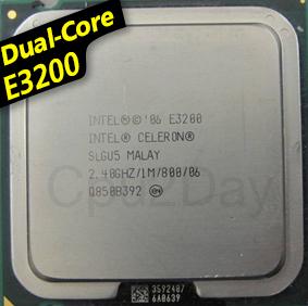 [775] Dual Core E3200 (1M Cache, 2.40 GHz, 800 MHz FSB)