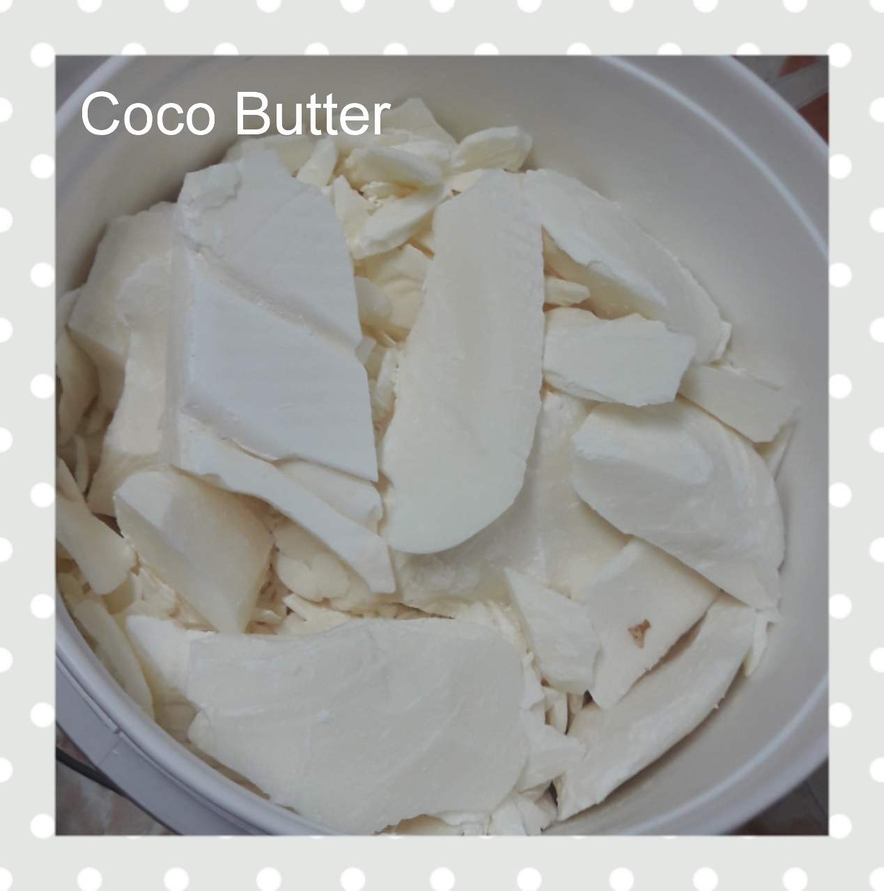 Cocoa Butter 500g.