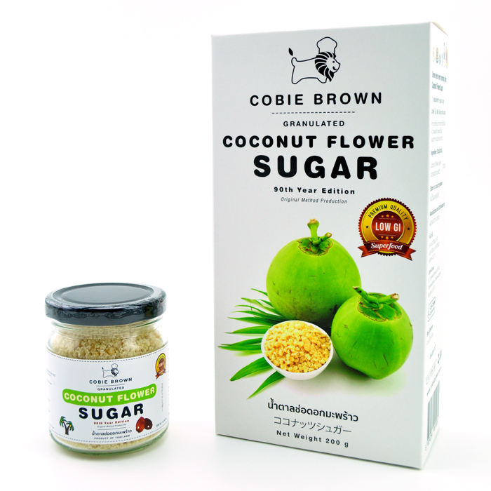 Cobie Brown Collection : Coconut Flower Sugar 120G. + 200G.