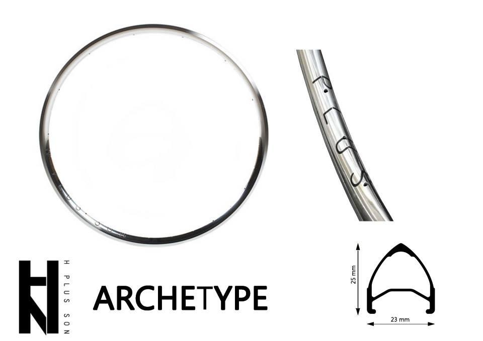 H PLUS SON รุ่น ARCHETYPE - Polished SIlver