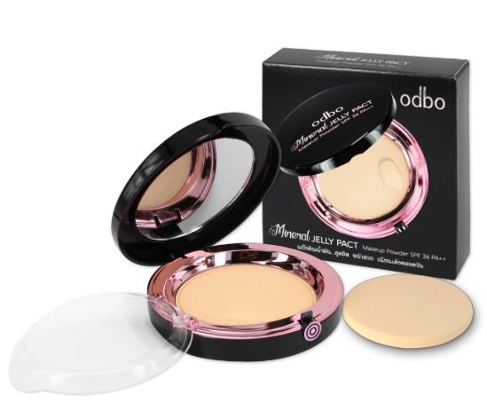 odbo Mineral JELLY PACT Makeup Powder SPF36 PA++ OD619 ของแท้ โปรโมชั่นโดนใจ