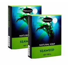 NATURAL SEAWEED SOAP สบู่สาหร่าย น้องนะคะ