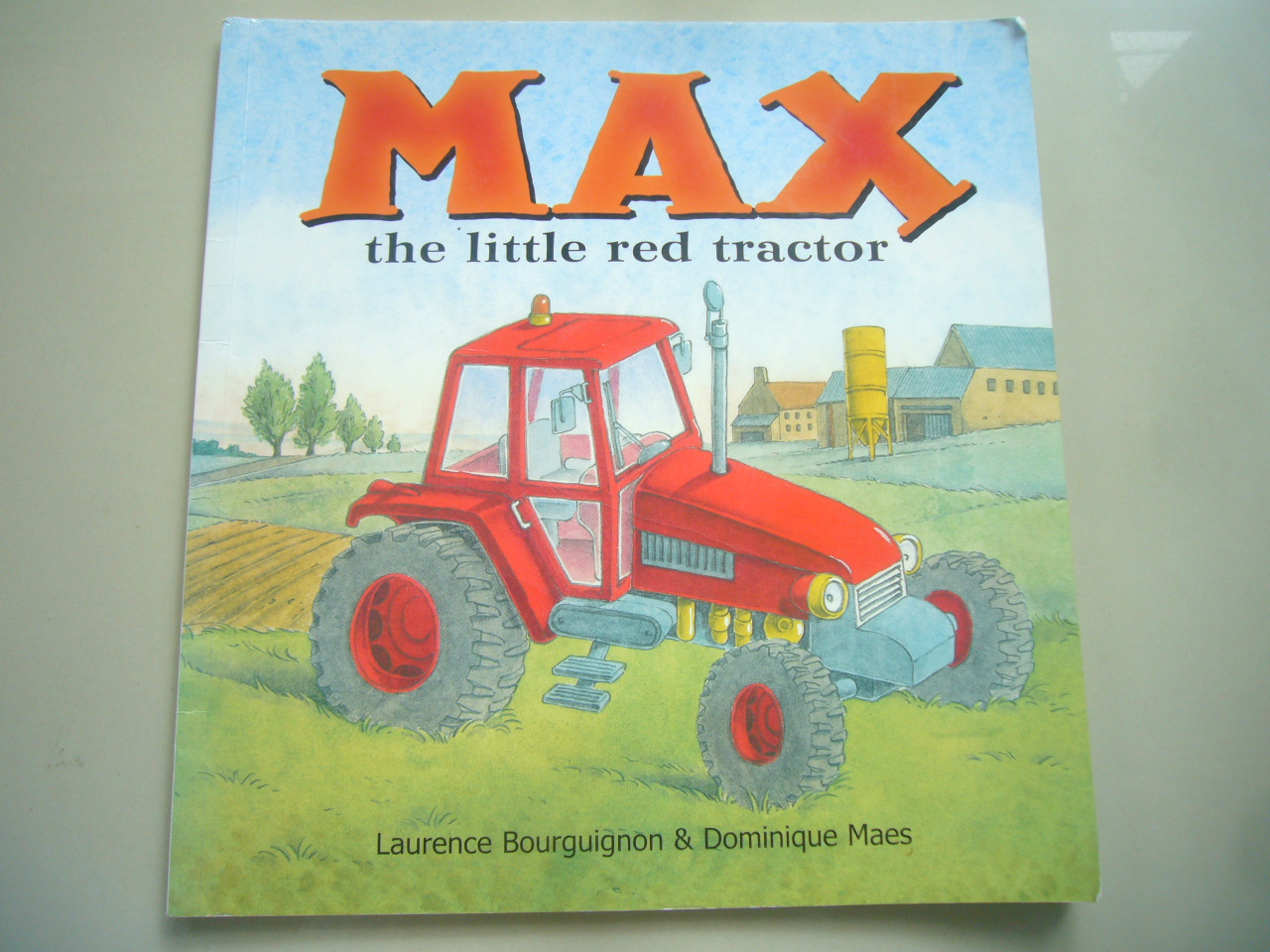 MAX the Little Red Tractor