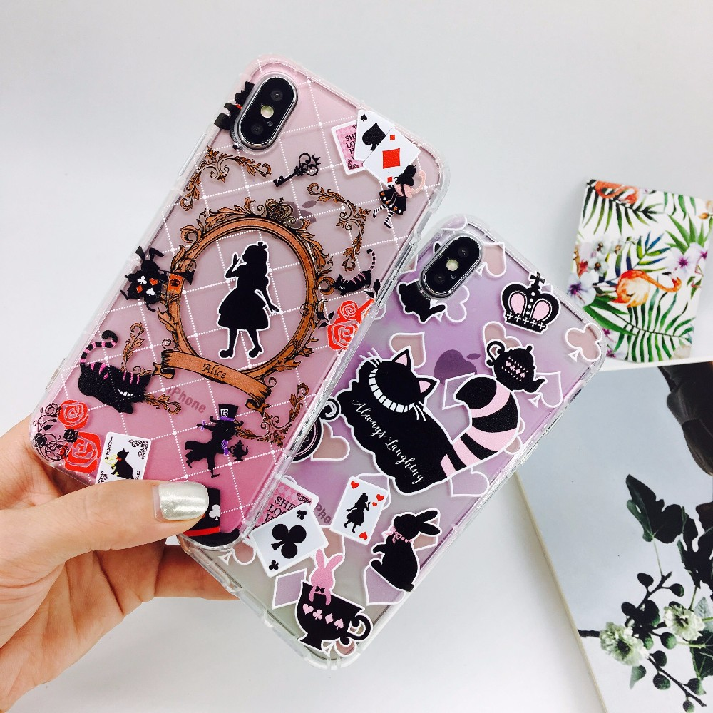Alice in Wonderland Case iPhone 7 Plus/ 8 Plus