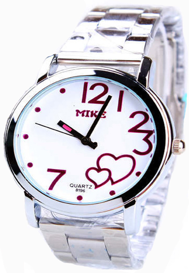 Make Quartz watches women นาฬิกาผู้หญิง แบรนด์ของฮ่องกง ระบบควอทด์ กันน้ำ กันสนิม