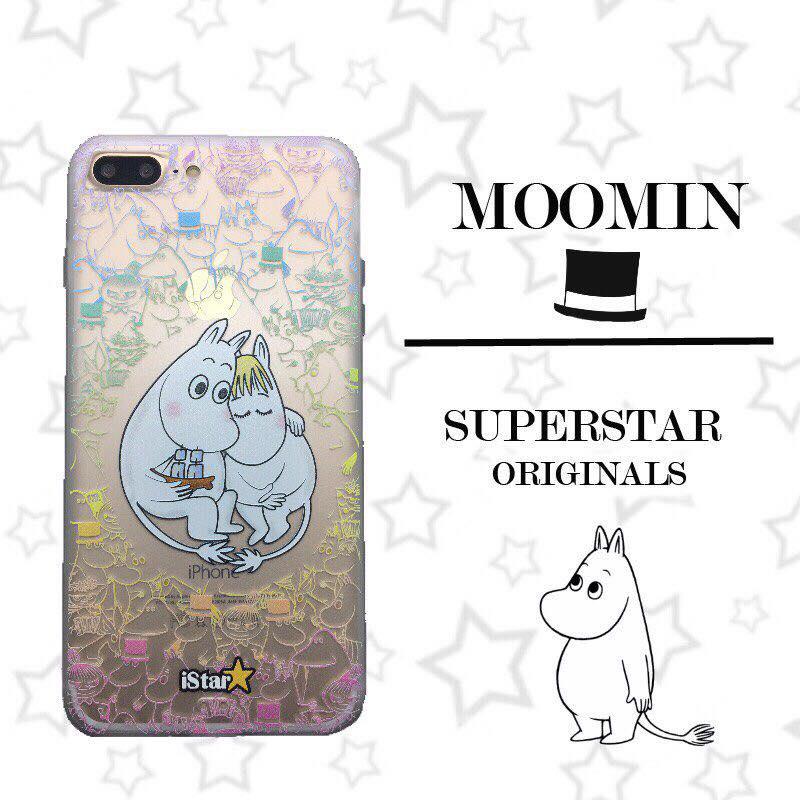 เคสใส สกรีนลายเส้นนูน Moomin iPhone 6 Plus/ 6S Plus