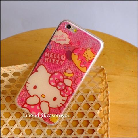 เคสซิลิโคนวิ้ง Kitty iPhone 5/5S/SE