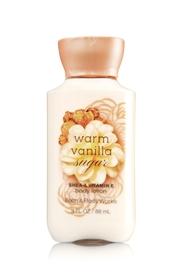 โลชั่น Warm Vanilla Sugar ขนาดเล็กพกพา (สินค้า Pre Order)