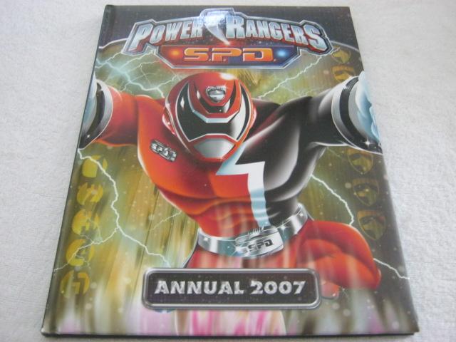 Power Rangers S.P.D. Annual 2007