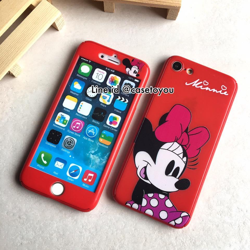 เคสประกบ 360 องศา Minnie Mouse iPhone 7