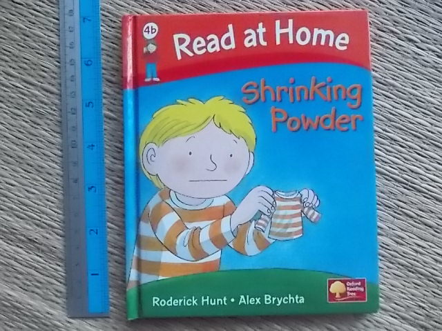 Read At Home 4B: Shrinking Powder