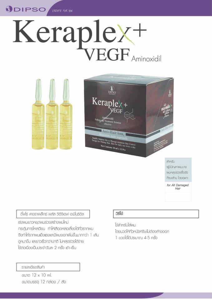 Hair KerapleX & Vegf Aminoxidil