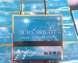 Aura Bright Apple Collagen Plus Premium Collagen 12,000 mg.