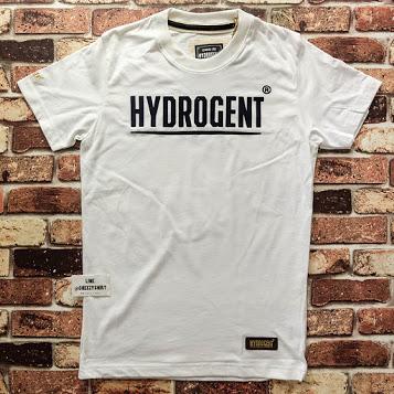 เสื้อยืดแฟชั่น HYDROGENT ขาว