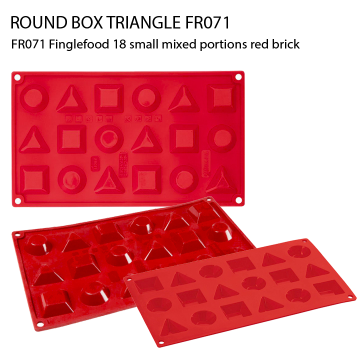 FR071 Finglefood 18 small mixed portions red brick