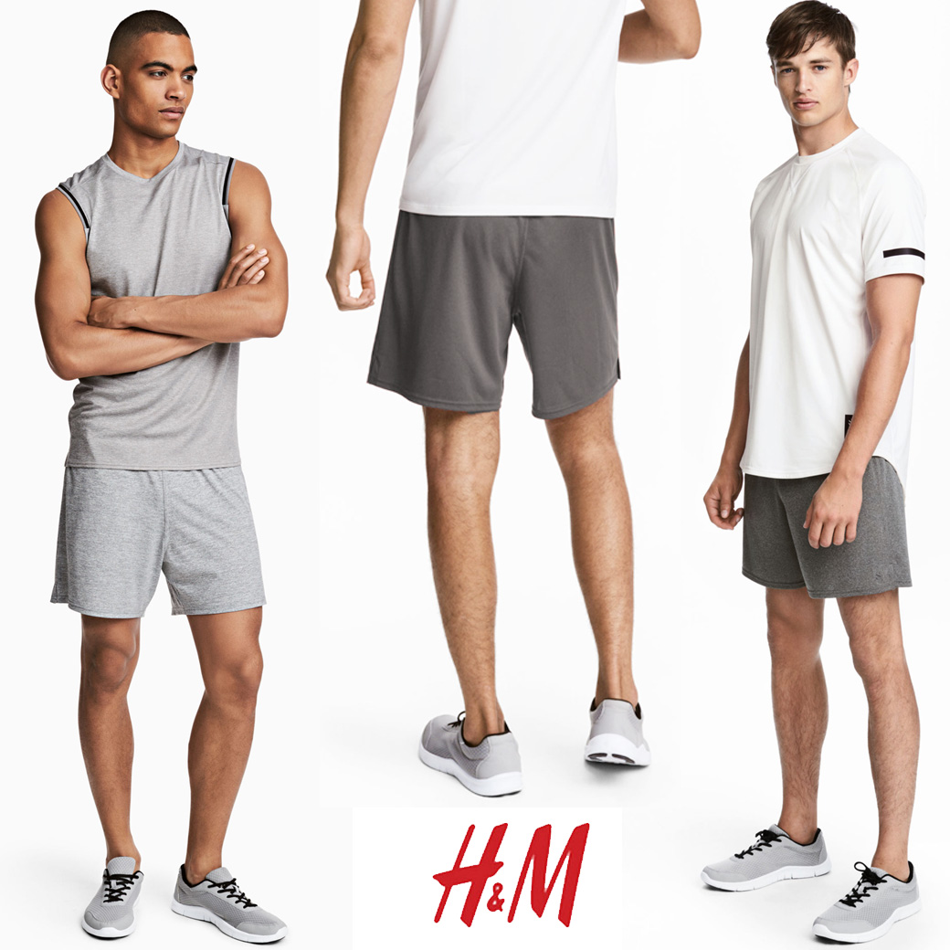 H&M SPORT TRAINNING SHORTS