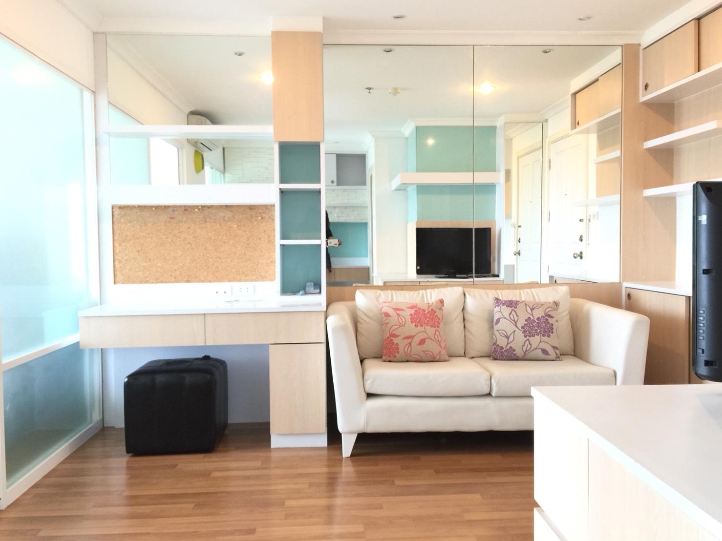 ให้เช่าคอนโด Lumpini Place Rama IX-Ratchada (ลุมพินี เพลส พระราม 9-รัชดา) 1 ห้องนอน