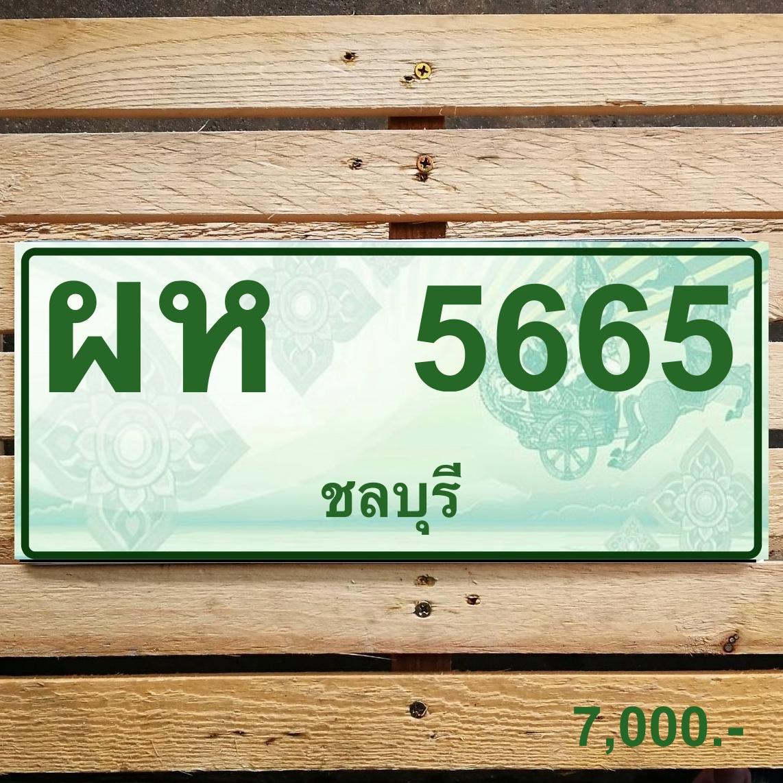 ผห 5665 ชลบุรี